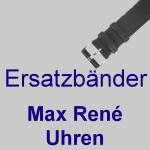 Ersatzbänder für Max René Uhren
