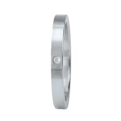 XEN Ring Edelstahl 1 Brillant Nr. 11331  -  Grösse 55