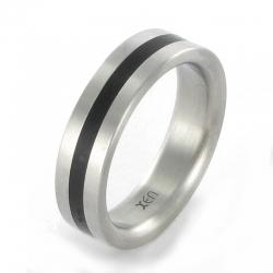 XEN Ring Edelstahl      Nr. 011153  -  Grösse 60