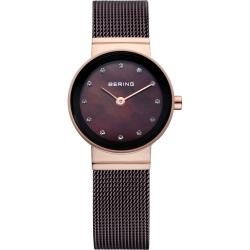 Ersatzband Bering Uhr - Milanaise braun  -  10122-265