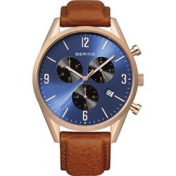 Ersatzband Bering Uhr - Leder braun - 10542-467