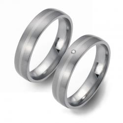 Partner Ringe   Titan/Palladium  Nr. 5407-5408