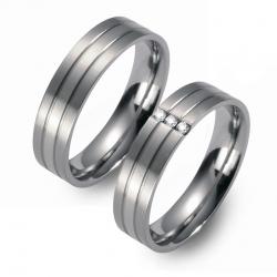Partner Ringe   Titan/Platin  Nr. 0501-0502