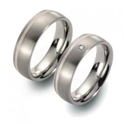 Partner Ringe   Titan/Platin  Nr. 5805-5806