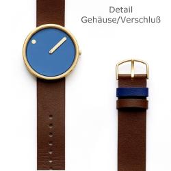 Ersatzband Leder für Picto Uhr Artikel Nr. 43376