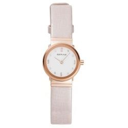 Ersatzuhrband Bering Uhr - Leder creme - 10122-664