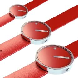 Ersatzband Picto Uhr - Farbe rot - Typ 43366, 43367, 43368