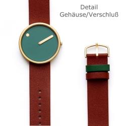 Ersatzband Leder für Picto Uhr Artikel Nr. 43377
