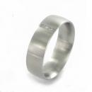 XEN Ring Edelstahl 3 Brillanten Nr. 011333  -  Grösse 50