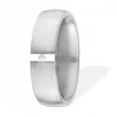 XEN Ring Edelstahl 1 Brillant Nr. 111596  -  Grösse 54