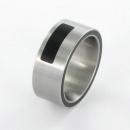 XEN Ring Edelstahl              Nr. 011178  -  Grösse 64