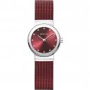 Ersatzband Bering Uhr - Milanaise rot - 10126-303, 10126-363