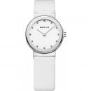 Ersatzband Bering Uhr - Leder weiß - 10126-804