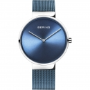 Ersatzband Bering Uhr - Milanaise blau - 14539-308