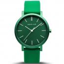 Ersatzband Bering Uhr - Silikon grün - Typnummer 16934-899
