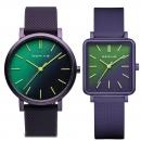 Ersatzband Bering Uhr - Silikon lila - Typnummer 16934-999,  16929-999