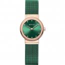Ersatzband Bering Uhr - Milanaise grün - 10126-868