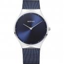 Ersatzband Bering Uhr - Milanaise blau - Typ 12138-307