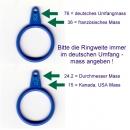 Ringmass zum Bestimmen der Ringgrösse