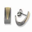 1 Paar Ohrstecker Titan 750 Gold  Nr. TSO 0605