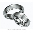 Partnerringe 925 Sterlingsilber Damenring mit Brillant Nr.8017