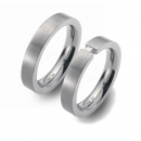 Partner Ringe Titan Diamant Princess  Nr. 8701-8702