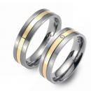 Partner Ringe Titan 750 Gelbgold Nr. 0203-0204