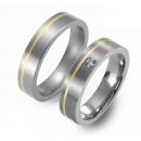 Partner Ringe Titan 750 Gelbgold Nr. 1001-1002