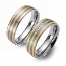 Partner Ringe Titan 750 Gelbgold Nr. 6601-6602