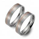 Partner Ringe Titan 750 Rotgold Nr. 1403-1404