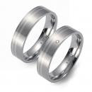 Partner Ringe   Titan/Palladium  Nr. 3605-3606