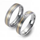 Partner Ringe Titan 750 Gelbgold Nr. 5601-5602