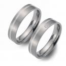 Partner Ringe   Titan/925 Sterlingsilber  Nr. 1501-1502