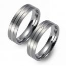 Partner Ringe   Titan/Platin  Nr. 0301-0302