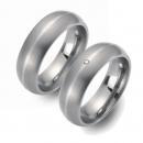 Partner Ringe   Titan/Platin  Nr. 6205-6206