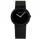 Ersatzband Bering Uhr - Milanaise schwarz - 10135-222 , 10135-226