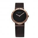 Ersatzband Bering Uhr - Milanaise braun - 10629-265