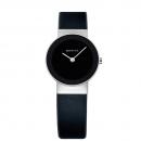 Ersatzband Bering Uhr - Leder schwarz - 10126-400, 10126-402