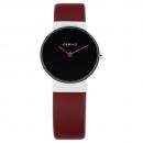 Ersatzband Bering Uhr - Leder rot - 10126-604