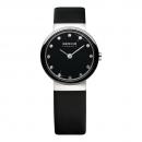 Ersatzband Bering Uhr - Leder schwarz - 10725-442