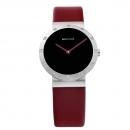 Ersatzband Bering Uhr - Leder rot - 10629-604