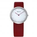 Ersatzband Bering Uhr - Leder rot - 10331-604