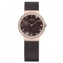 Ersatzband Bering Uhr - Milanaise braun - 10725-262