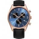 Ersatzband Bering Uhr - Leder schwarz - 10542-567
