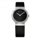 Ersatzband Bering Uhr - Leder schwarz - 10629-402