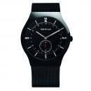 Ersatzband Bering Uhr - Milanaise schwarz - 11940-222 , 11940-227, 11940-228