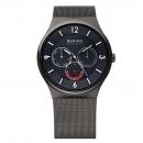 Ersatzband Bering Uhr - Milanaise anthrazit - Typnummer 33440-077