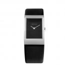 Ersatzband Bering Uhr - Leder schwarz - 10222-400, 10222-402 , 10222-409
