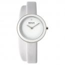 Ersatzband Bering Uhr - Leder weiß - Typnummer 33128-854
