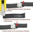 Ersatzband mit Faltschliesse - für Typ 43103 , 43104 , 43163 , 43184